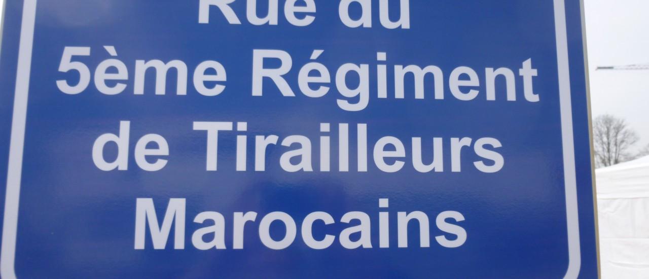 Mémoires de Tirailleurs Marocains le 28 novembre à Longvic