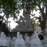 Fontaine d'Ain Fouara, par Francis de Saint Vidal